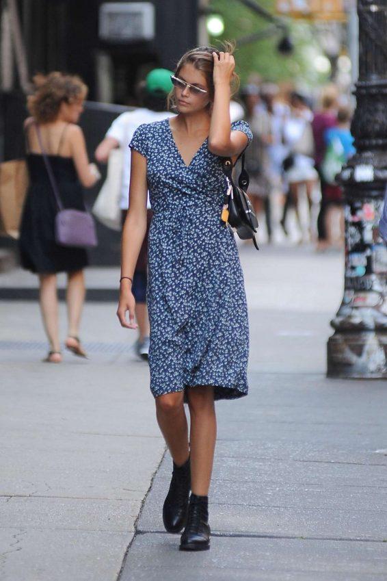 Kaia Gerber 2019 : Kaia Gerber in Summer Dress-03