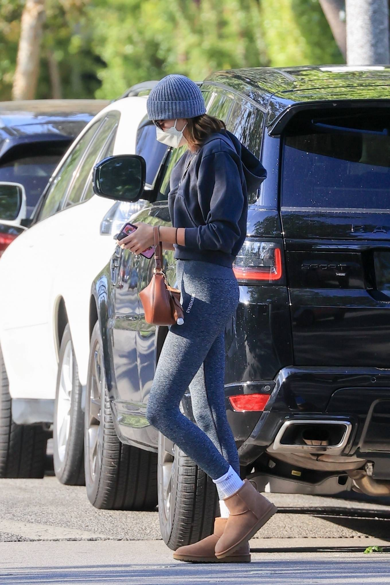Kaia Gerber 2021 : Kaia Gerber – In workout outfit in West Hollywood-10