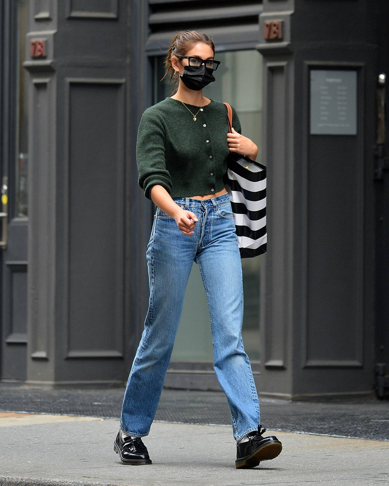 Kaia Gerber 2021 : Kaia Gerber – Is pictured out and about in New York-01