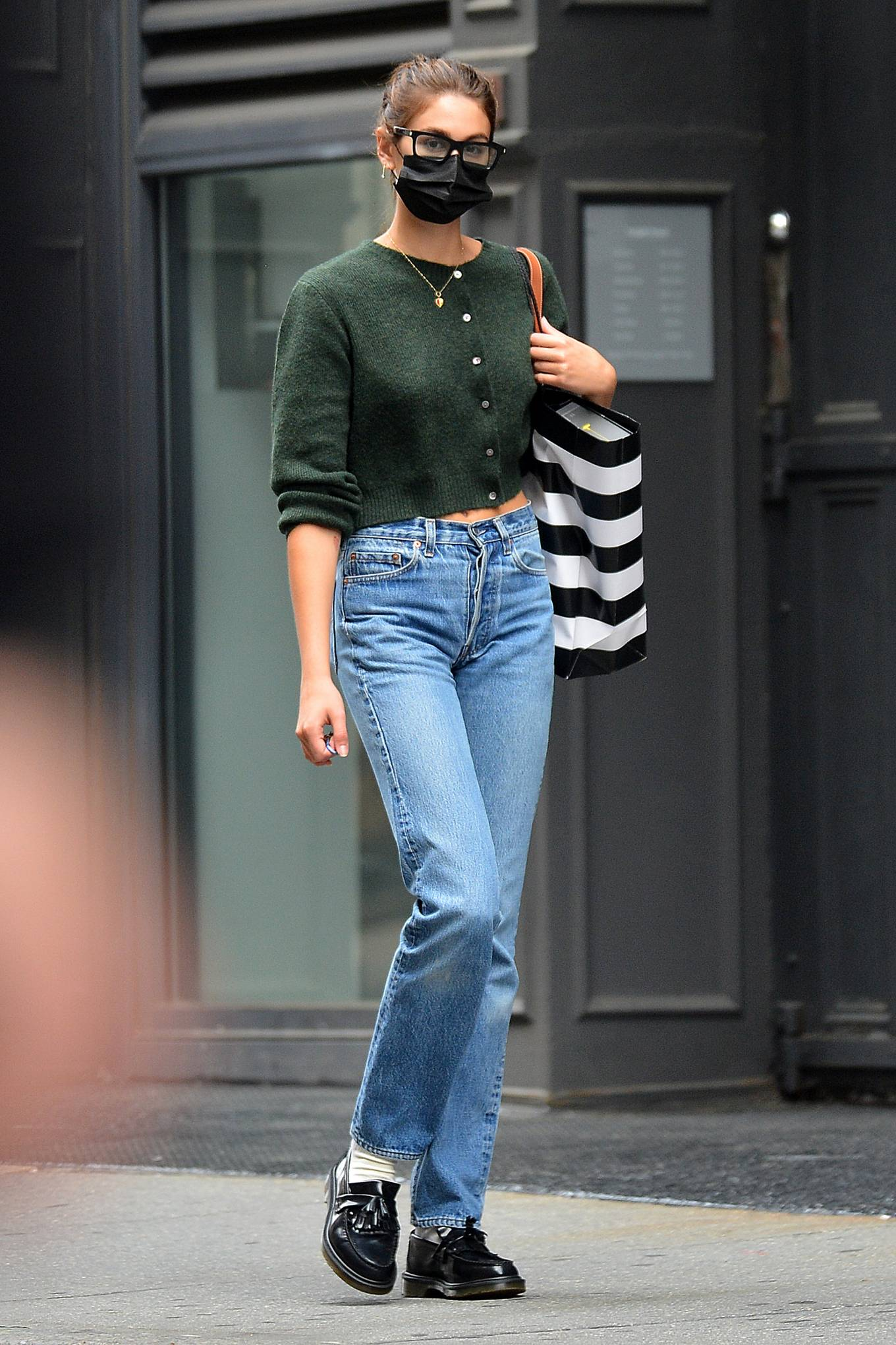 Kaia Gerber 2021 : Kaia Gerber – Is pictured out and about in New York-08
