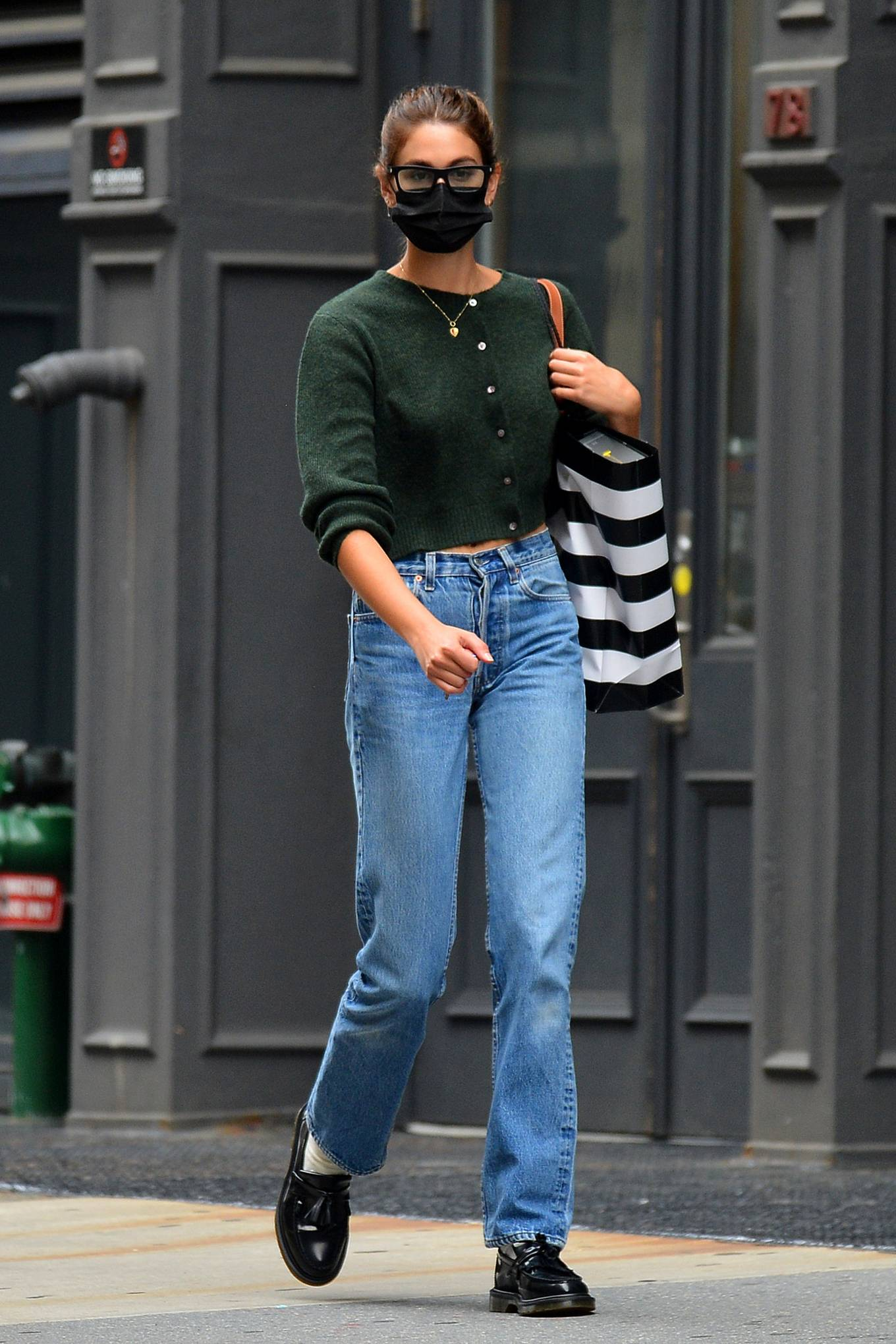 Kaia Gerber 2021 : Kaia Gerber – Is pictured out and about in New York-09