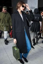 Kaia Gerber - Is seen at Longchamp fashion show 2020 during New York Fashion Week