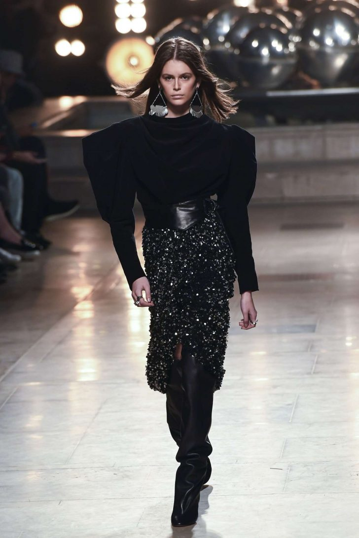 Kaia Gerber - Isabel Marant Fashion Show in Paris