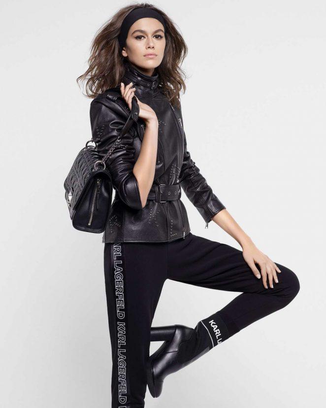 Kaia Gerber - Karl Lagerfeld Fall 2018