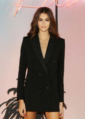 Kaia Gerber - Karl Lagerfeld x Kaia Collaboration Capsule Collection in Paris