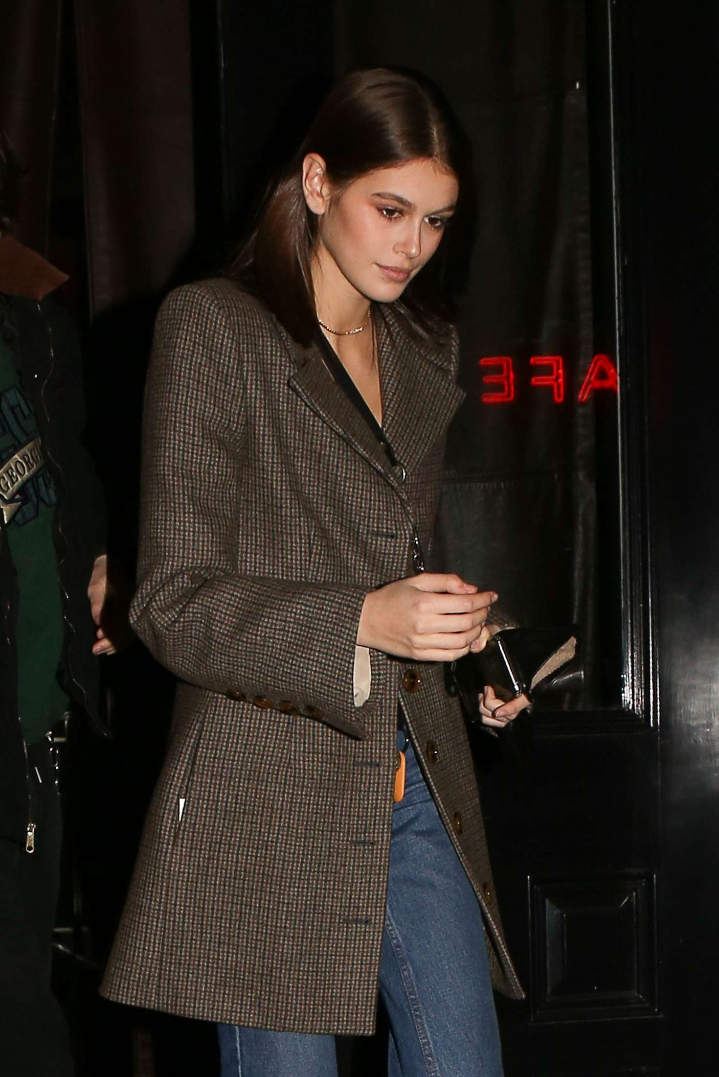 Kaia Gerber – Leaving the Mercer hotel in New York