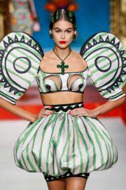 Kaia Gerber - Moschino Runway Show SS 2020 at Milan Fashion Week