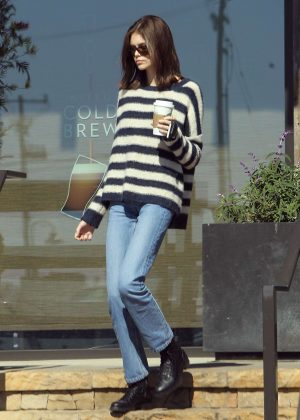 Kaia Gerber - Out and about in Malibu