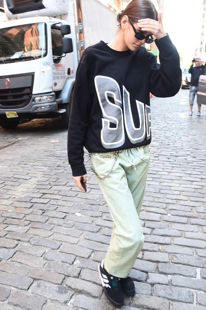 Kaia Gerber - Out and about in New York City