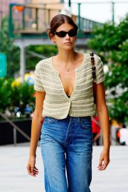Kaia Gerber - Out and about in NY