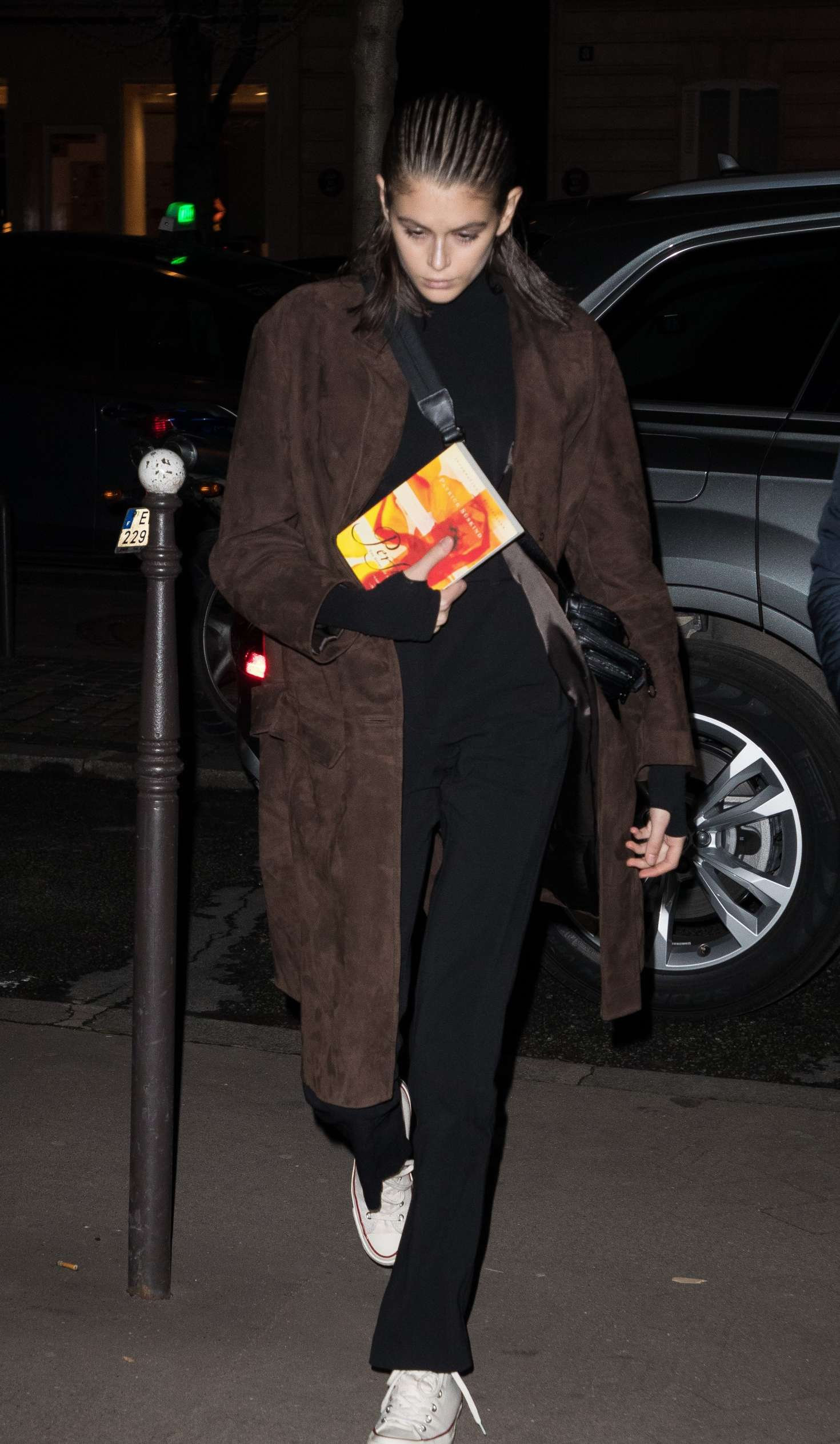 Kaia Gerber - Out and about in Paris