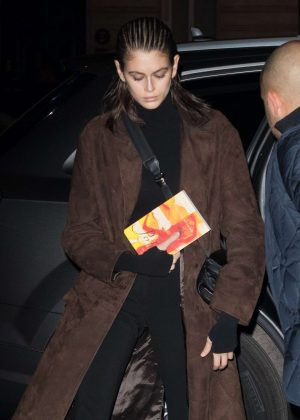 Kaia Gerber – Out and about in Paris