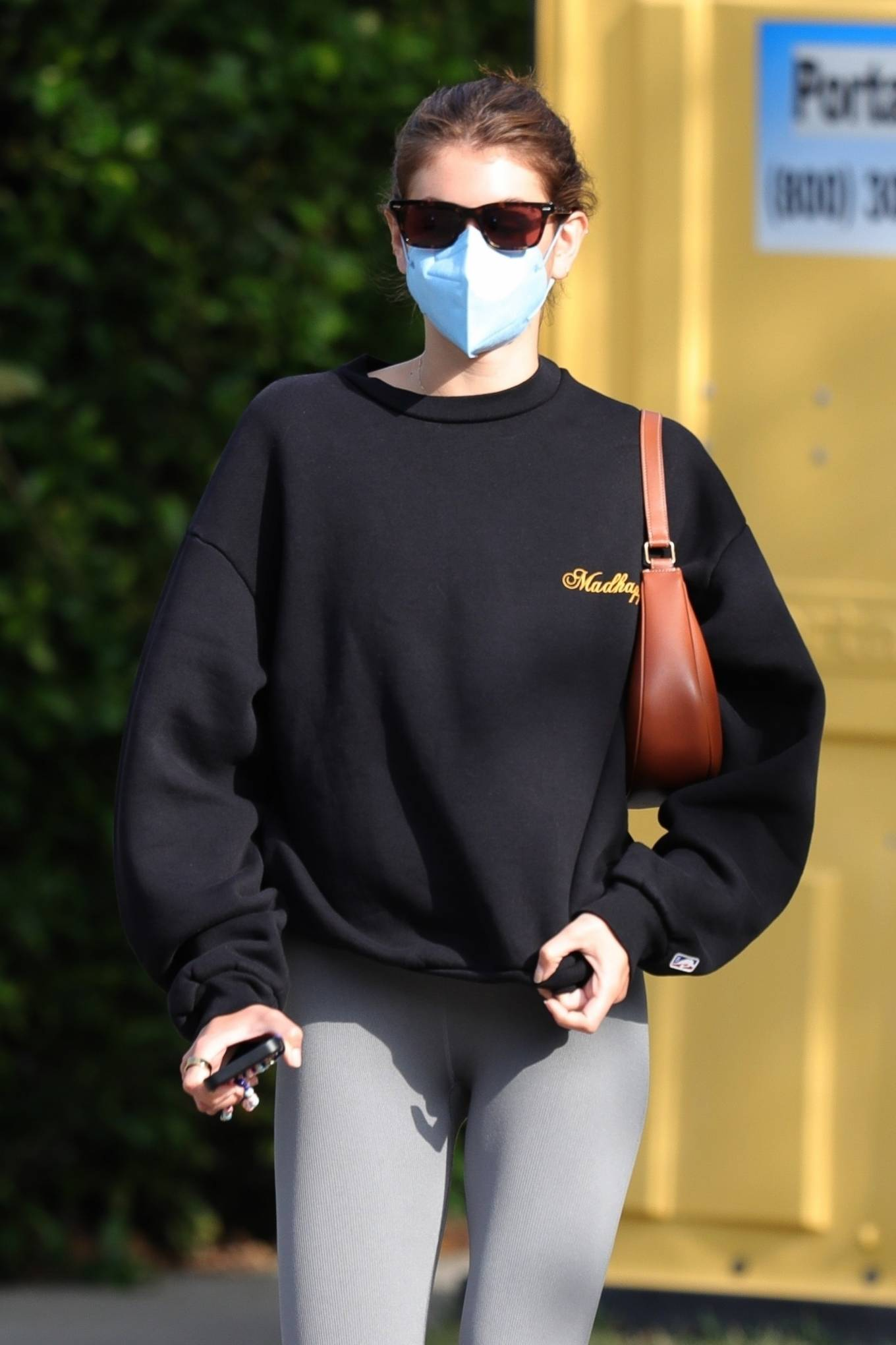 Kaia Gerber 2021 : Kaia Gerber – Out for a pilates class in West Hollywood-06