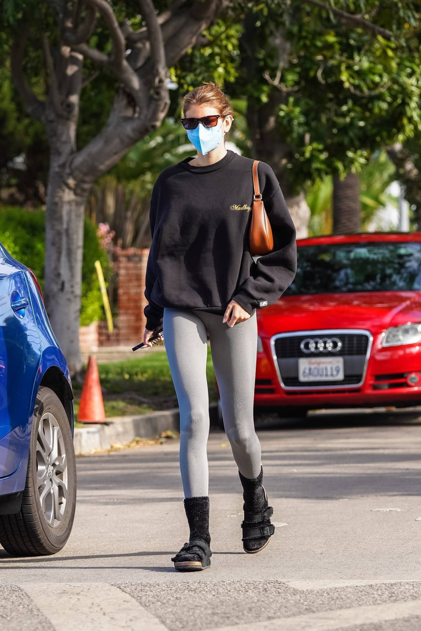 Kaia Gerber 2021 : Kaia Gerber – Out for a pilates class in West Hollywood-09