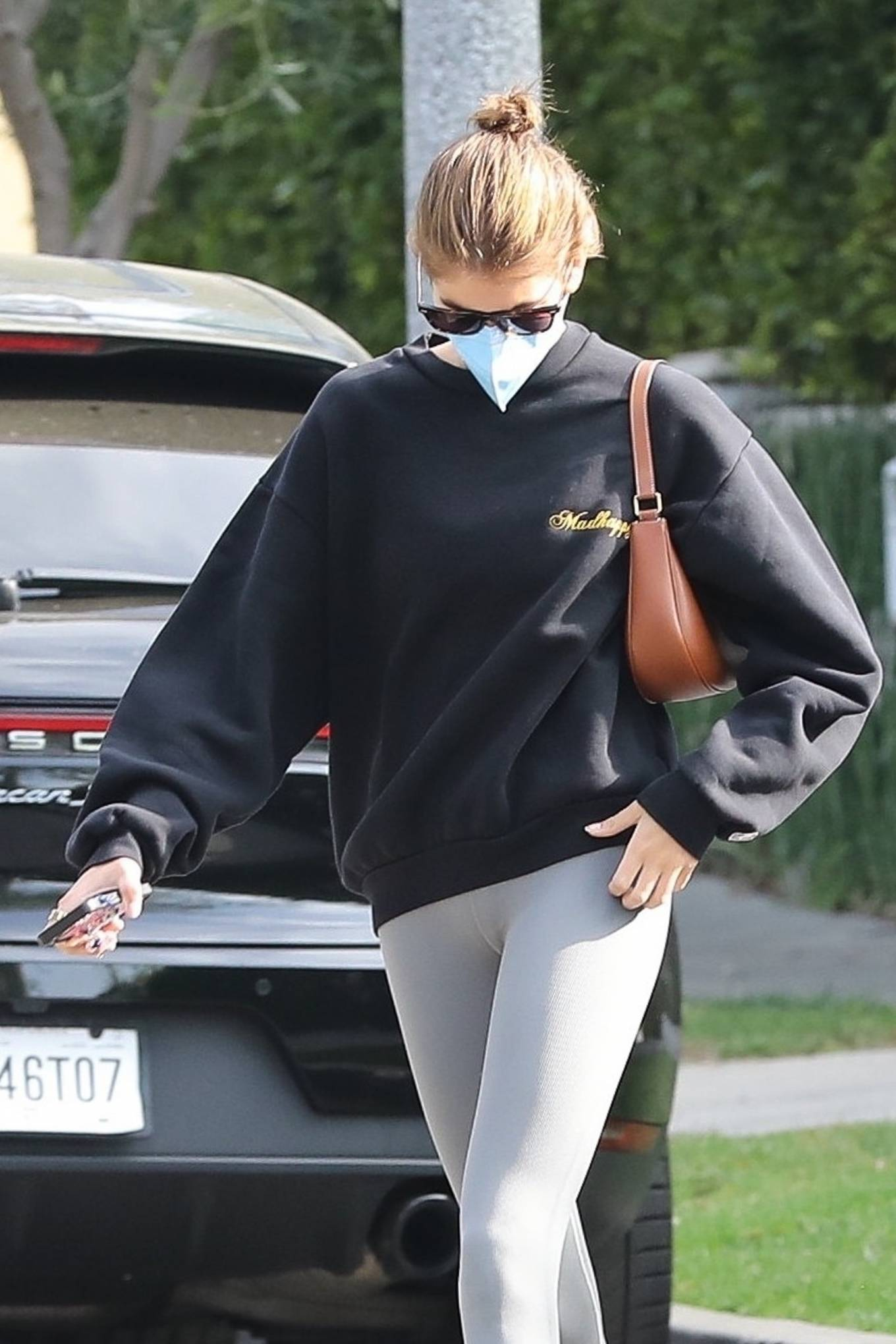 Kaia Gerber 2021 : Kaia Gerber – Out for a pilates class in West Hollywood-14