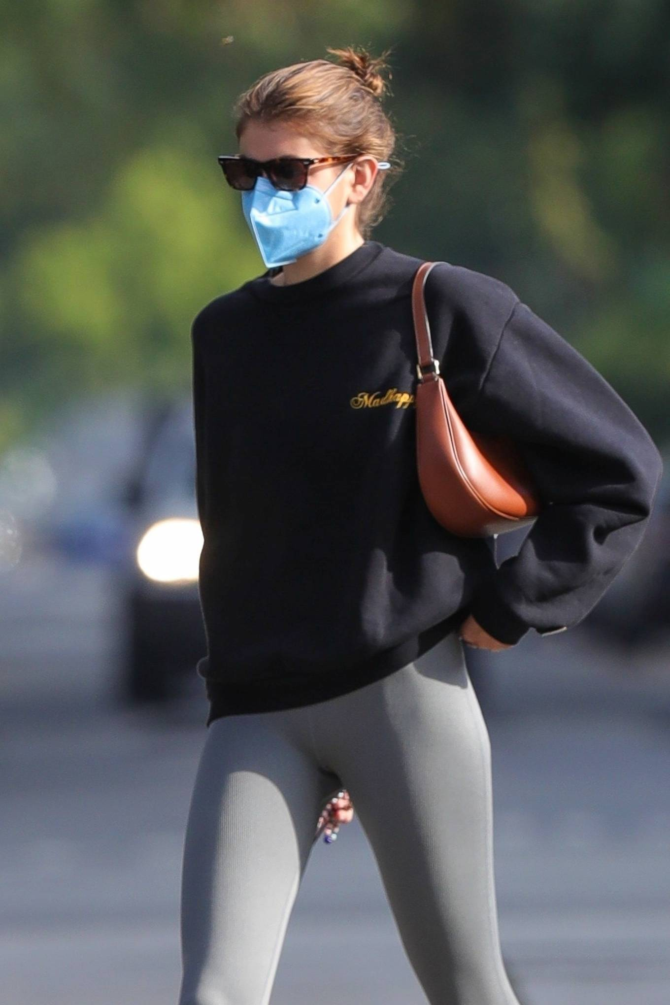 Kaia Gerber 2021 : Kaia Gerber – Out for a pilates class in West Hollywood-16