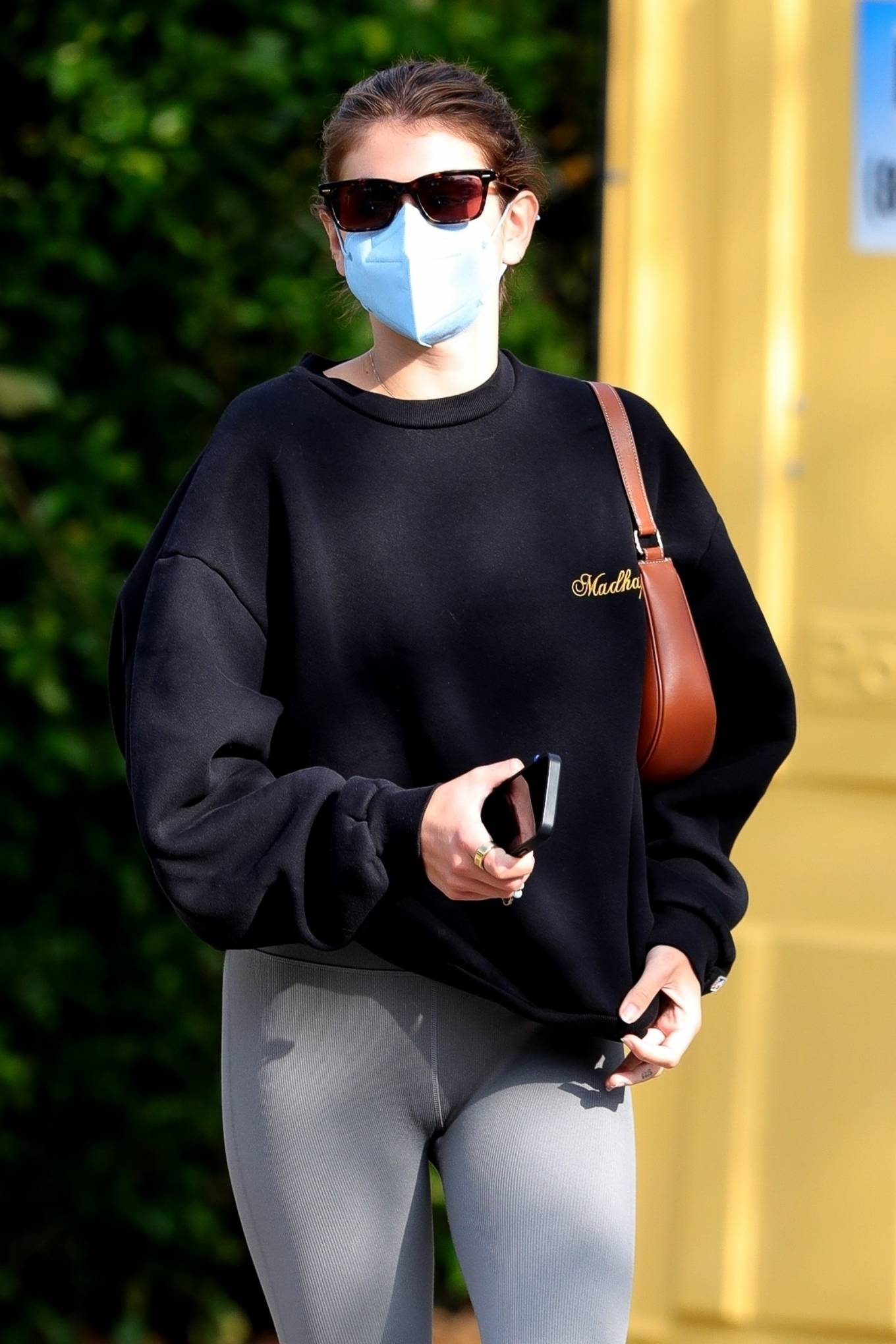 Kaia Gerber 2021 : Kaia Gerber – Out for a pilates class in West Hollywood-22