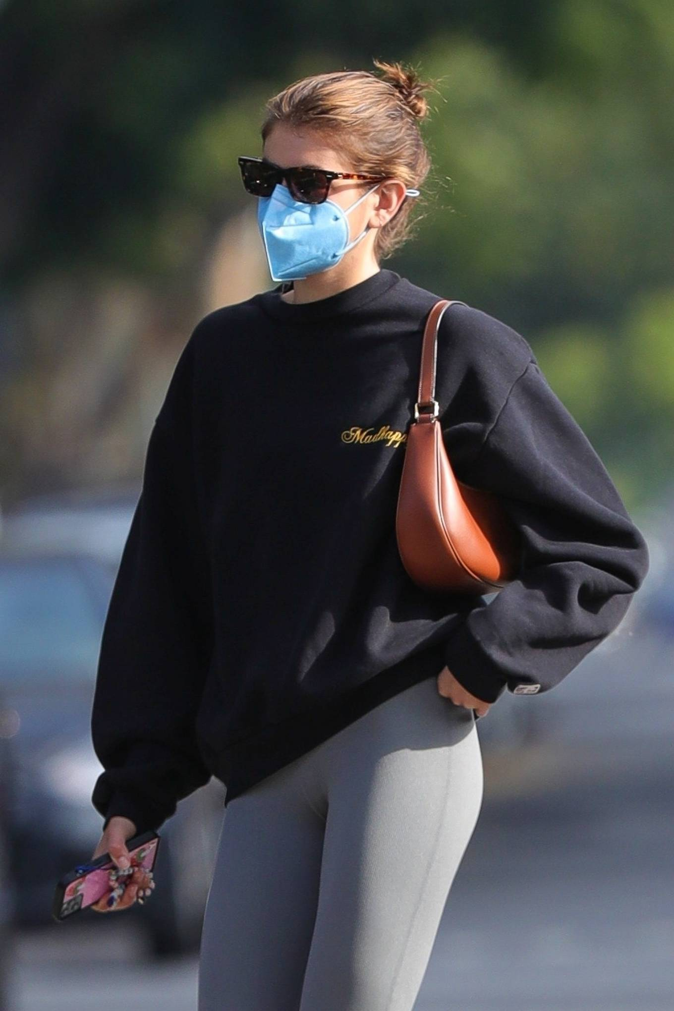 Kaia Gerber 2021 : Kaia Gerber – Out for a pilates class in West Hollywood-28