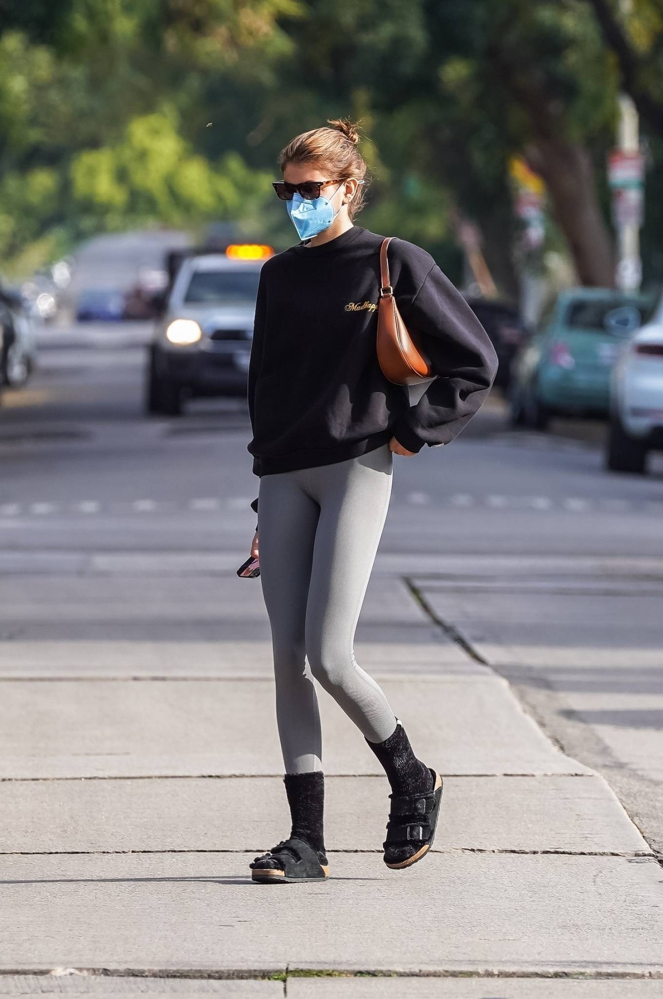 Kaia Gerber 2021 : Kaia Gerber – Out for a pilates class in West Hollywood-33