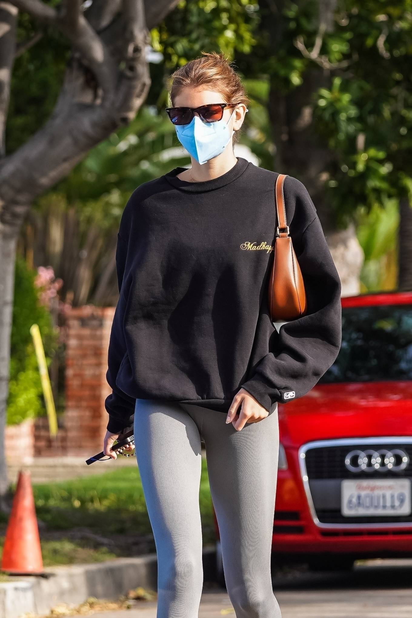 Kaia Gerber 2021 : Kaia Gerber – Out for a pilates class in West Hollywood-35