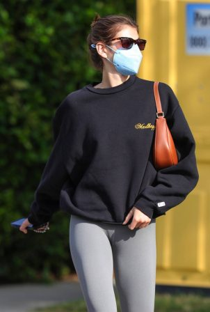 Kaia Gerber - Out for a pilates class in West Hollywood