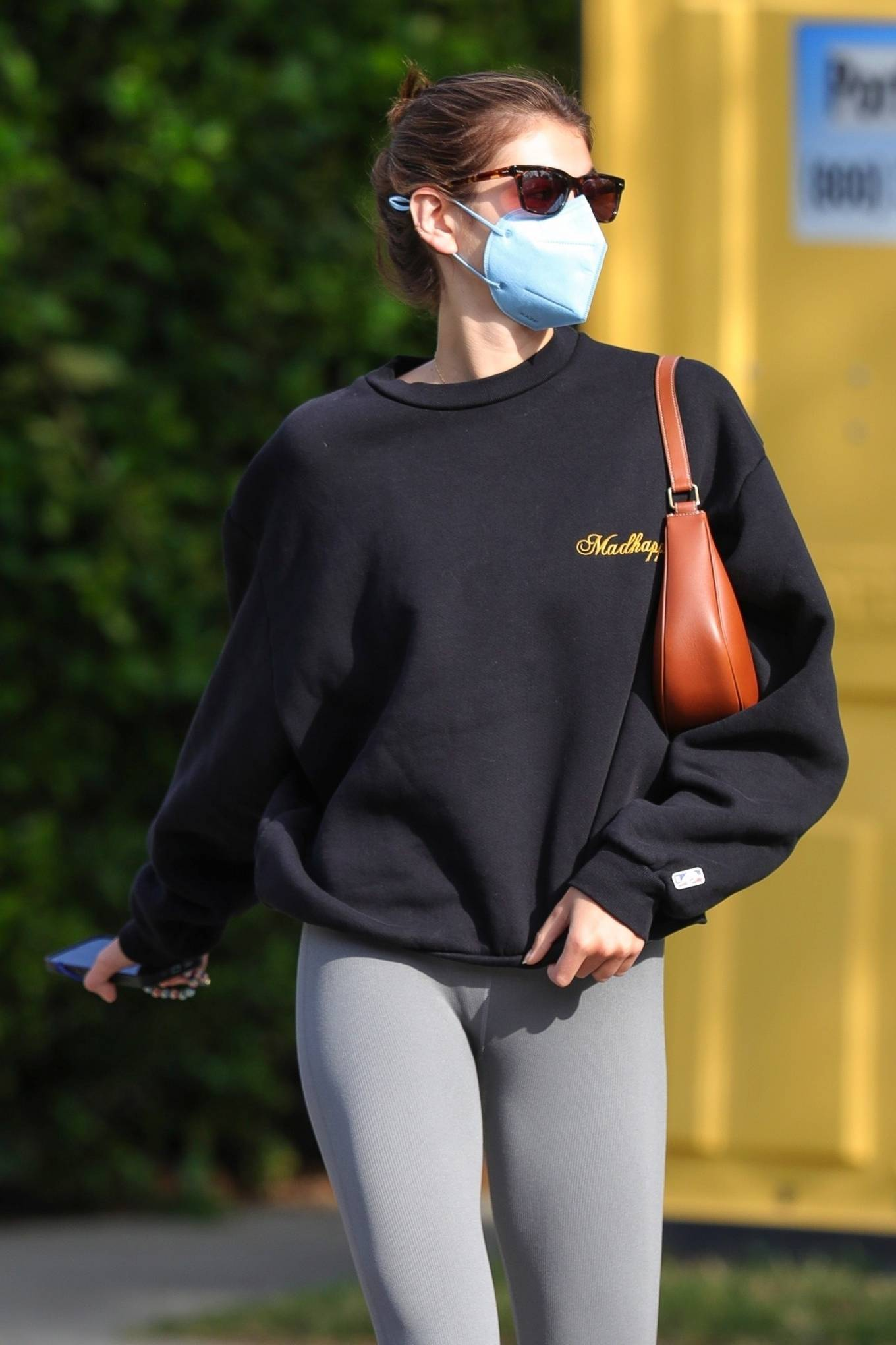 Kaia Gerber 2021 : Kaia Gerber – Out for a pilates class in West Hollywood-41
