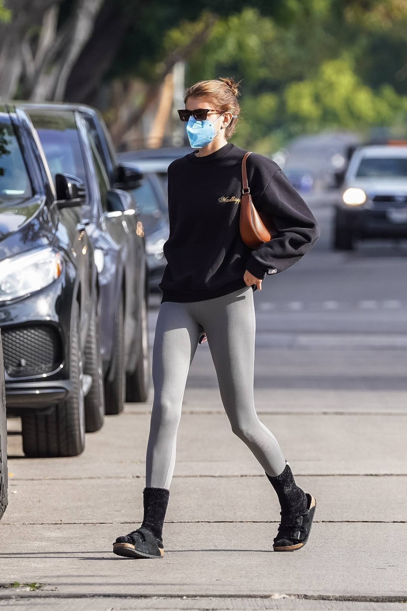 Kaia Gerber 2021 : Kaia Gerber – Out for a pilates class in West Hollywood-44