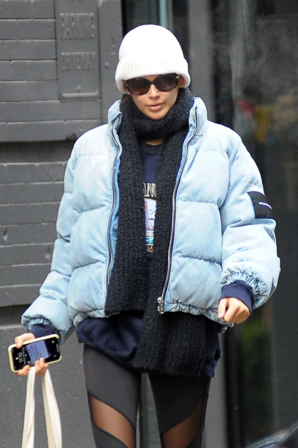 Kaia Gerber - Out for coffee in NYC