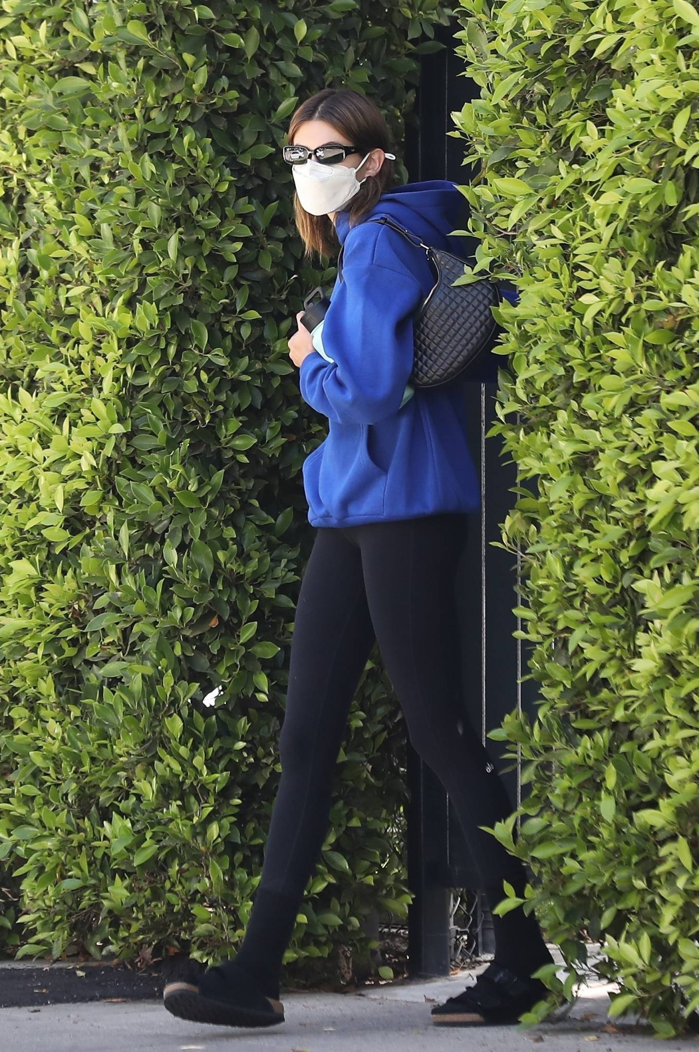 Kaia Gerber 2021 : Kaia Gerber – Out for pilates class in West Hollywood-01