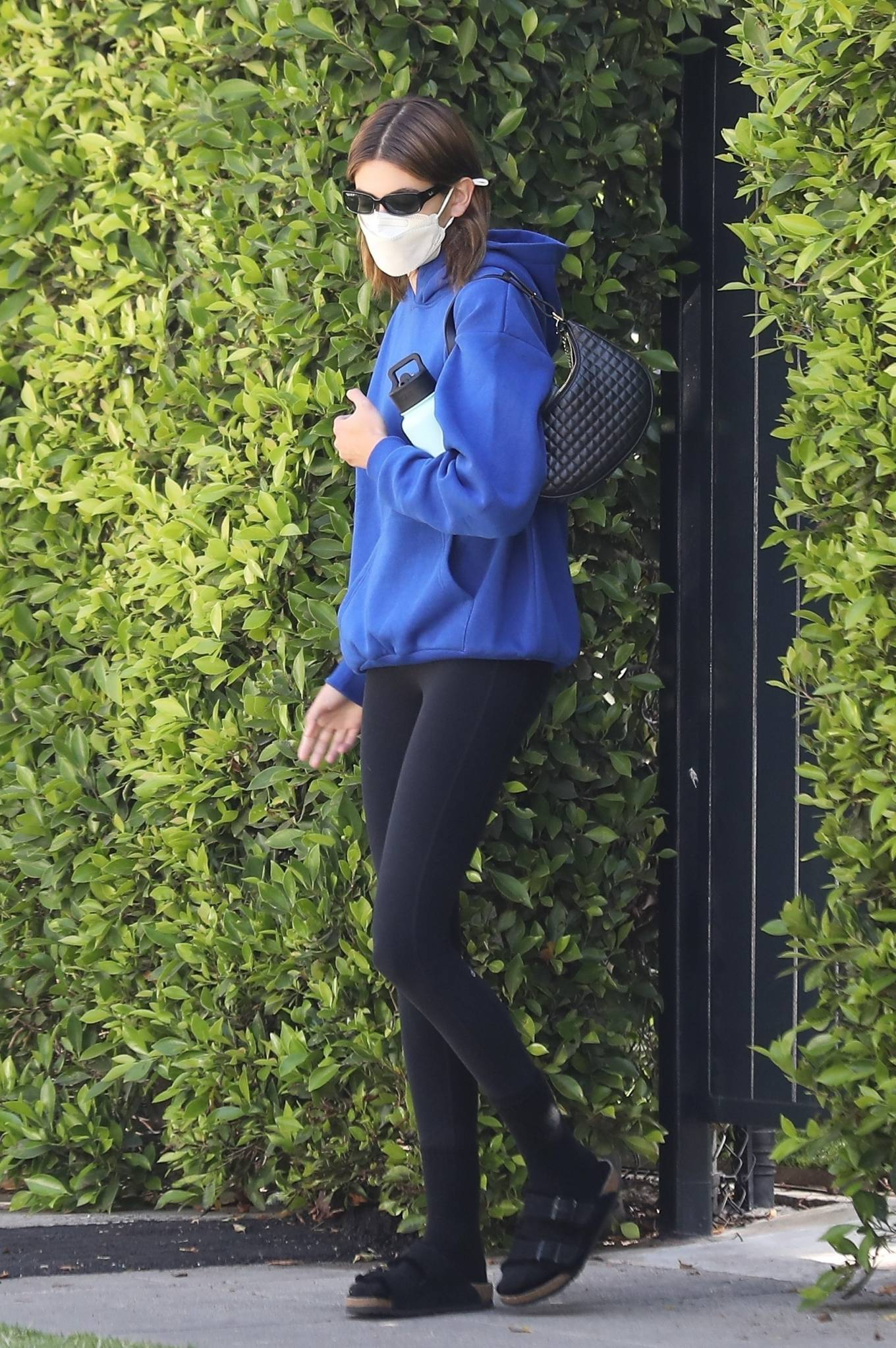 Kaia Gerber 2021 : Kaia Gerber – Out for pilates class in West Hollywood-09