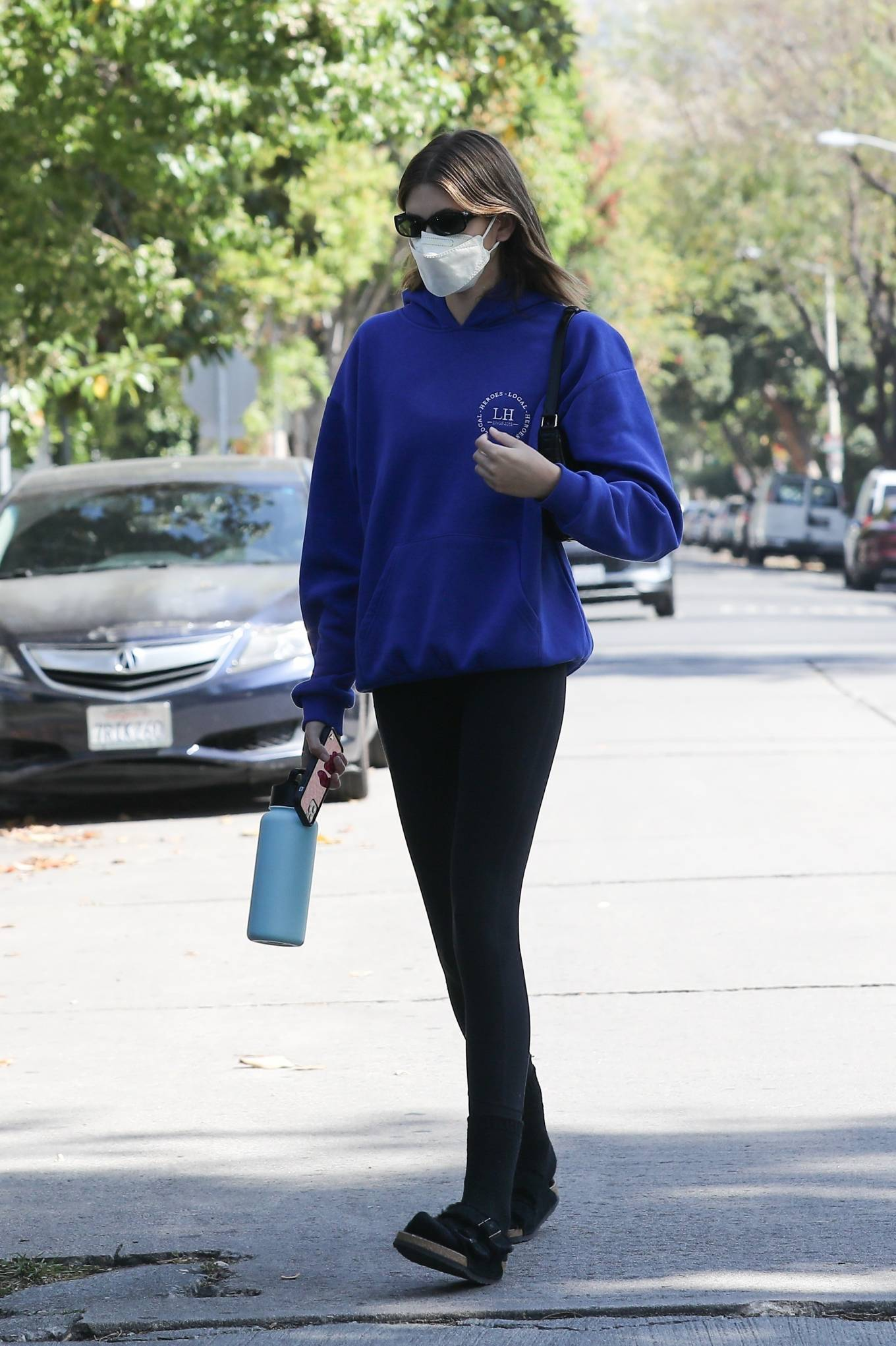Kaia Gerber 2021 : Kaia Gerber – Out for pilates class in West Hollywood-16