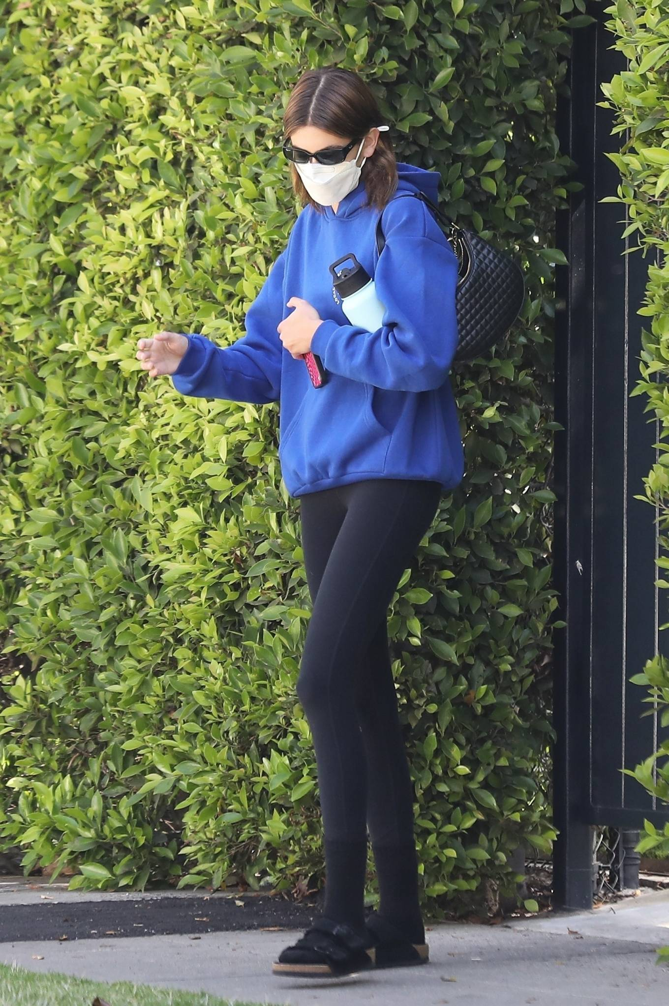 Kaia Gerber 2021 : Kaia Gerber – Out for pilates class in West Hollywood-18