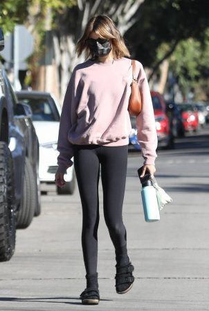 Kaia Gerber - Out for pilates in West Hollywood