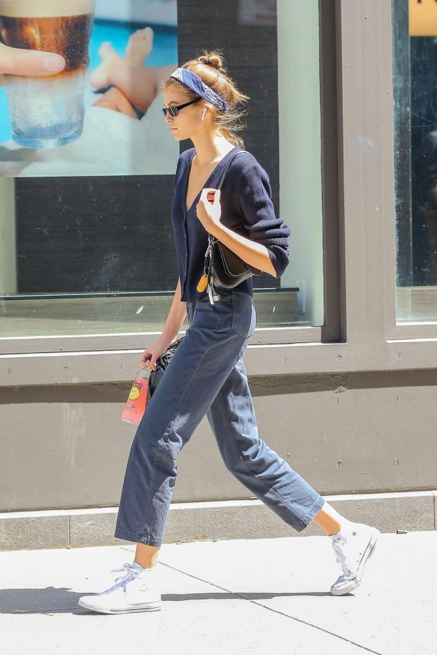 Kaia Gerber: Out in New York City-17
