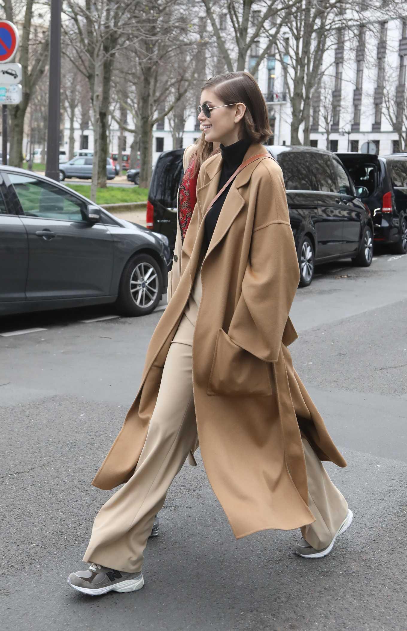 Kaia Gerber 2020 : Kaia Gerber – Out in Paris-03