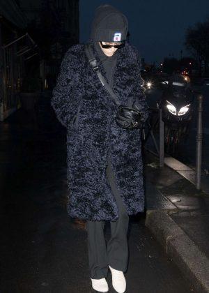 Kaia Gerber - Out in Paris