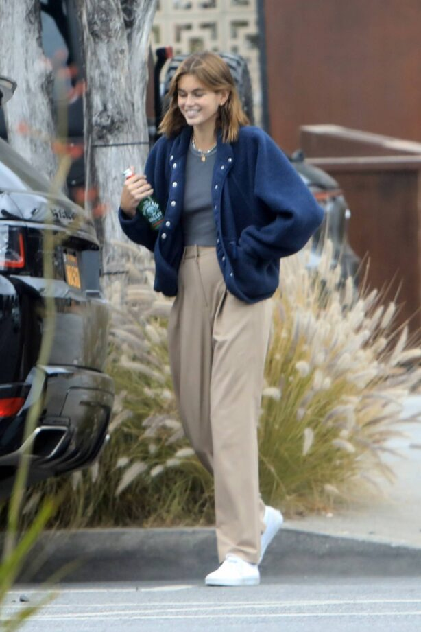 Kaia Gerber - out in West Hollywood