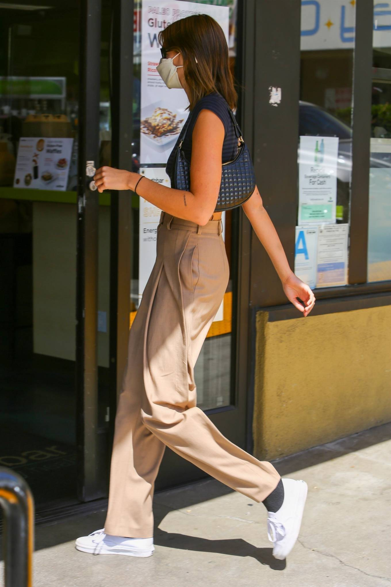 Kaia Gerber 2021 : Kaia Gerber – Pictured at Earth Bar in West Hollywood-01