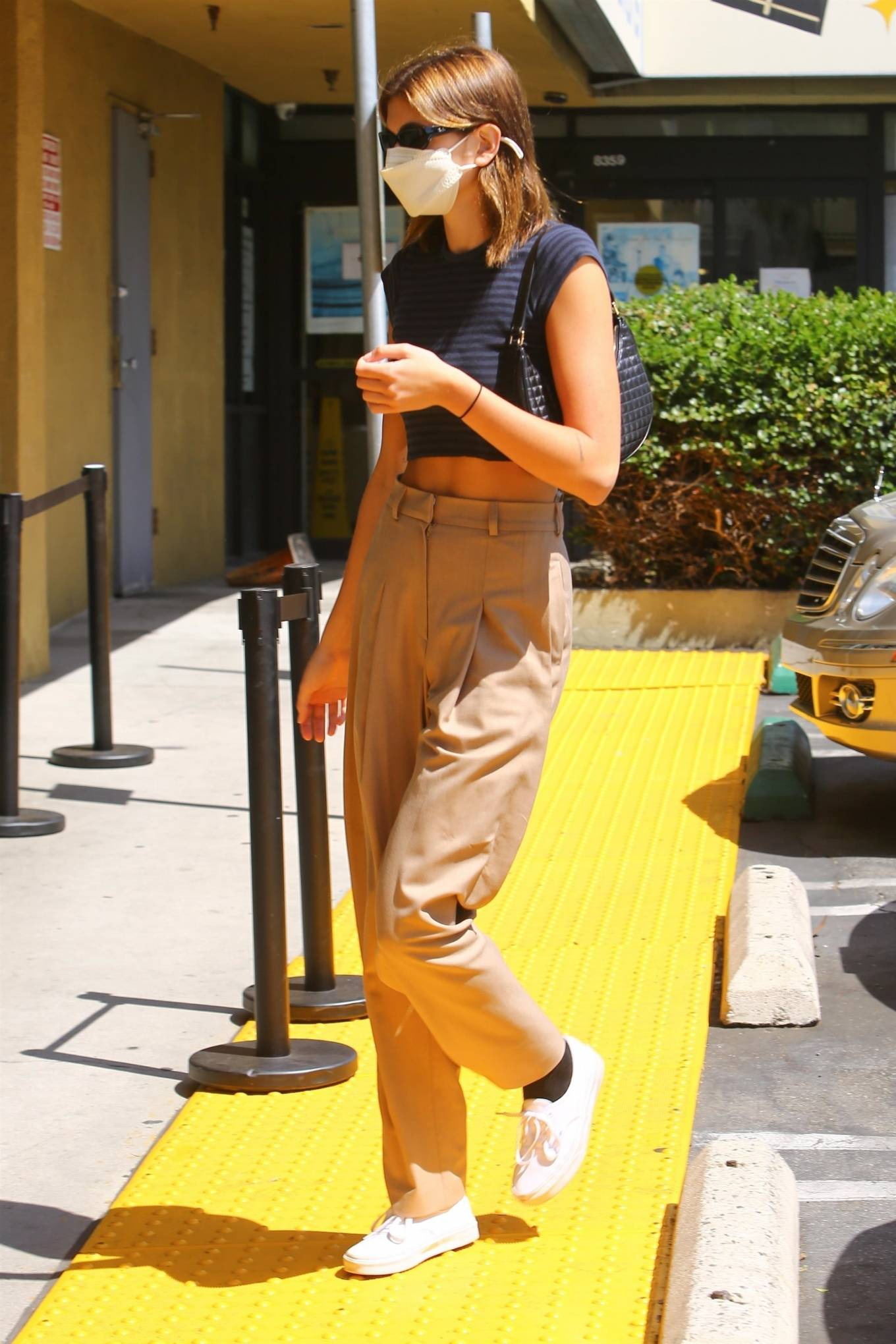 Kaia Gerber - Pictured at Earth Bar in West Hollywood