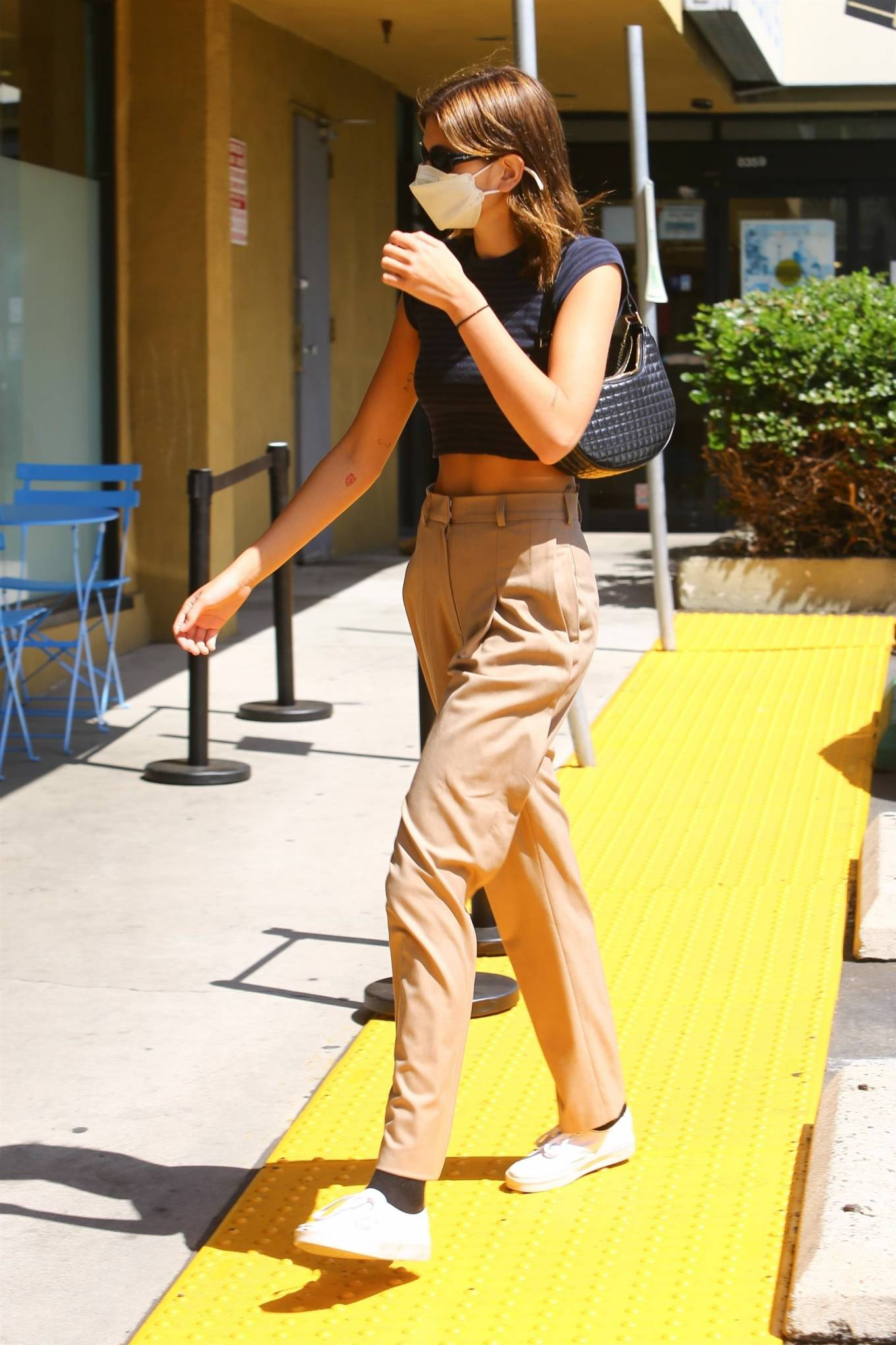 Kaia Gerber 2021 : Kaia Gerber – Pictured at Earth Bar in West Hollywood-08