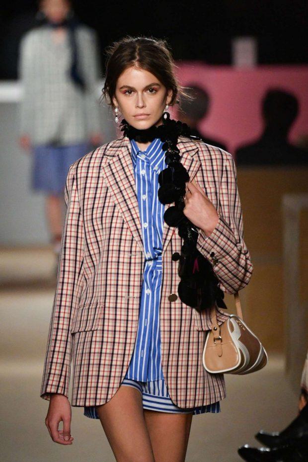 Kaia Gerber - Prada Resort 2020 Fashion Show in NYC