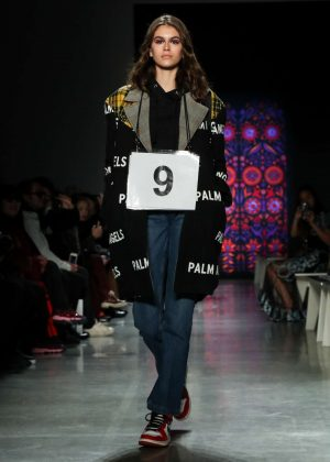 Kaia Gerber - Rehearsals for the Anna Sui show in NYC