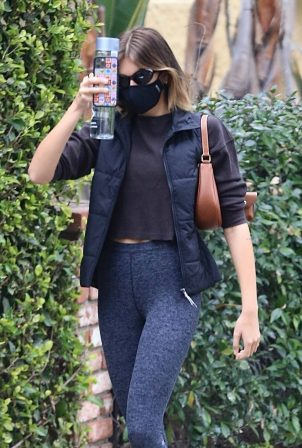 Kaia Gerber - Seen after Pilates workout session in Los Angeles