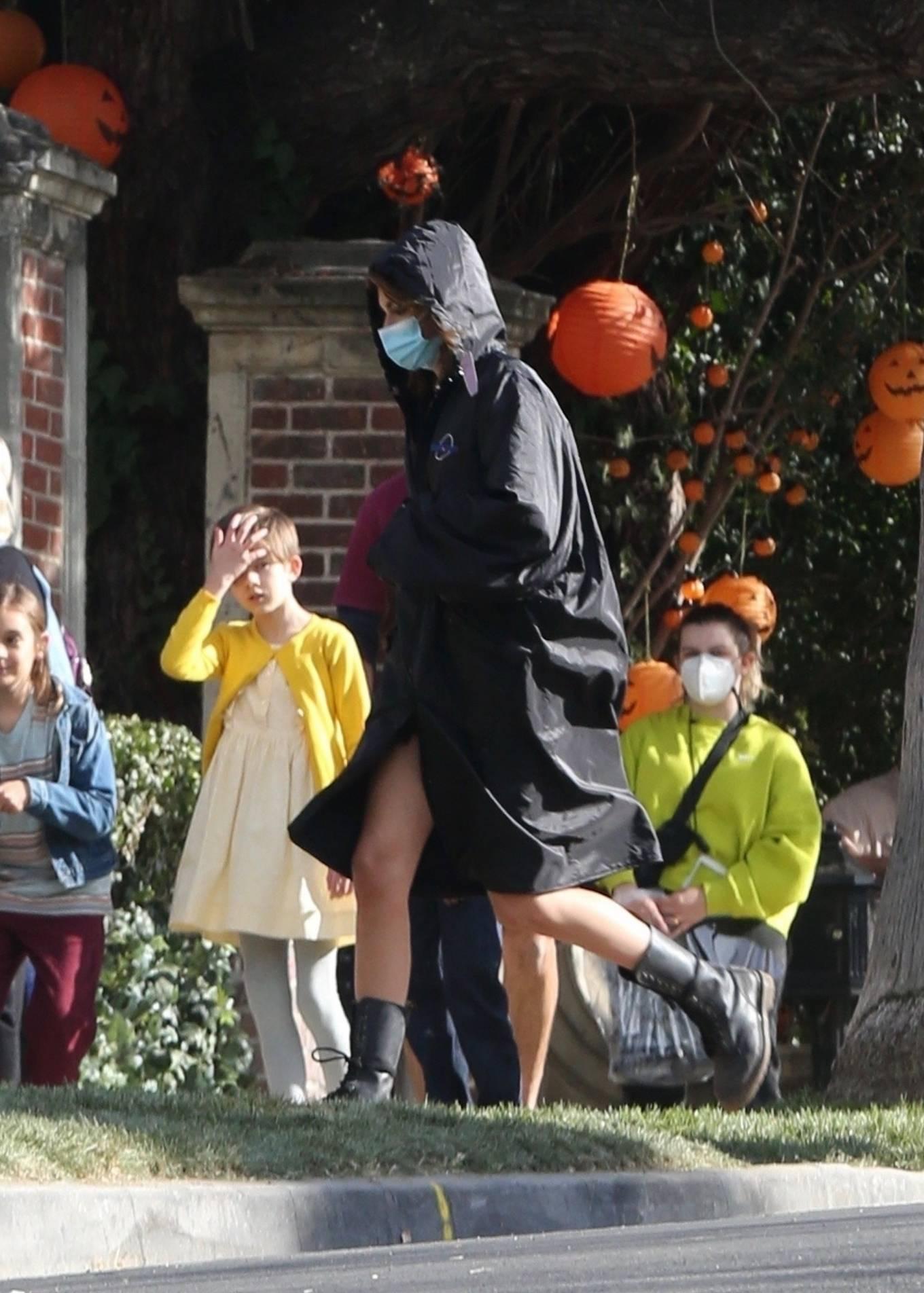 Kaia Gerber 2021 : Kaia Gerber – Seen at American Horror Story Season 10 set in Burbank-14