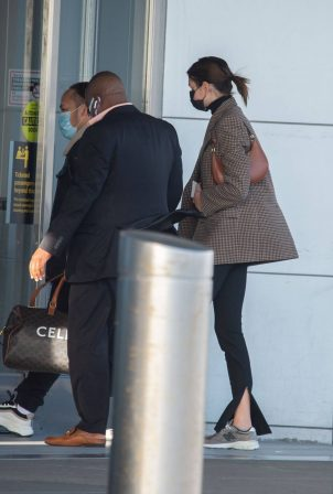 Kaia Gerber - Seen at JFK Airport
