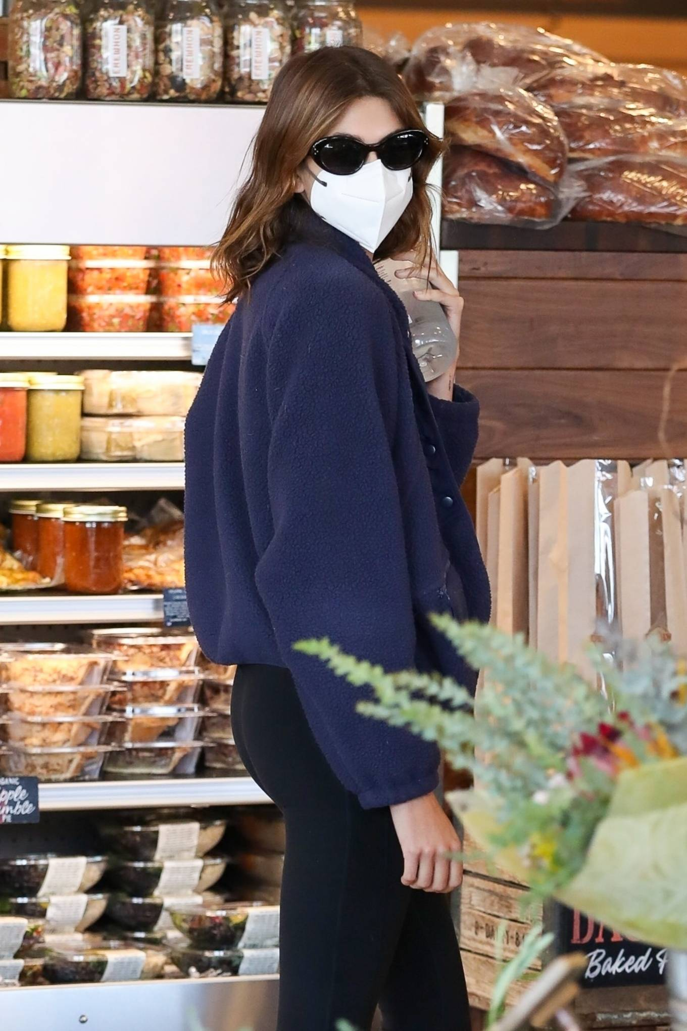 Kaia Gerber - Seen at the High-end grocery Erewhon Market in West Hollywood