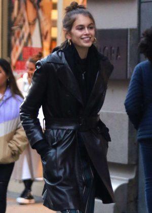 Kaia Gerber - Shopping in Manhattan