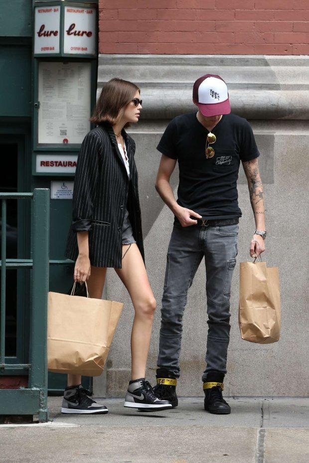 Kaia Gerber: Shopping in New York City-12