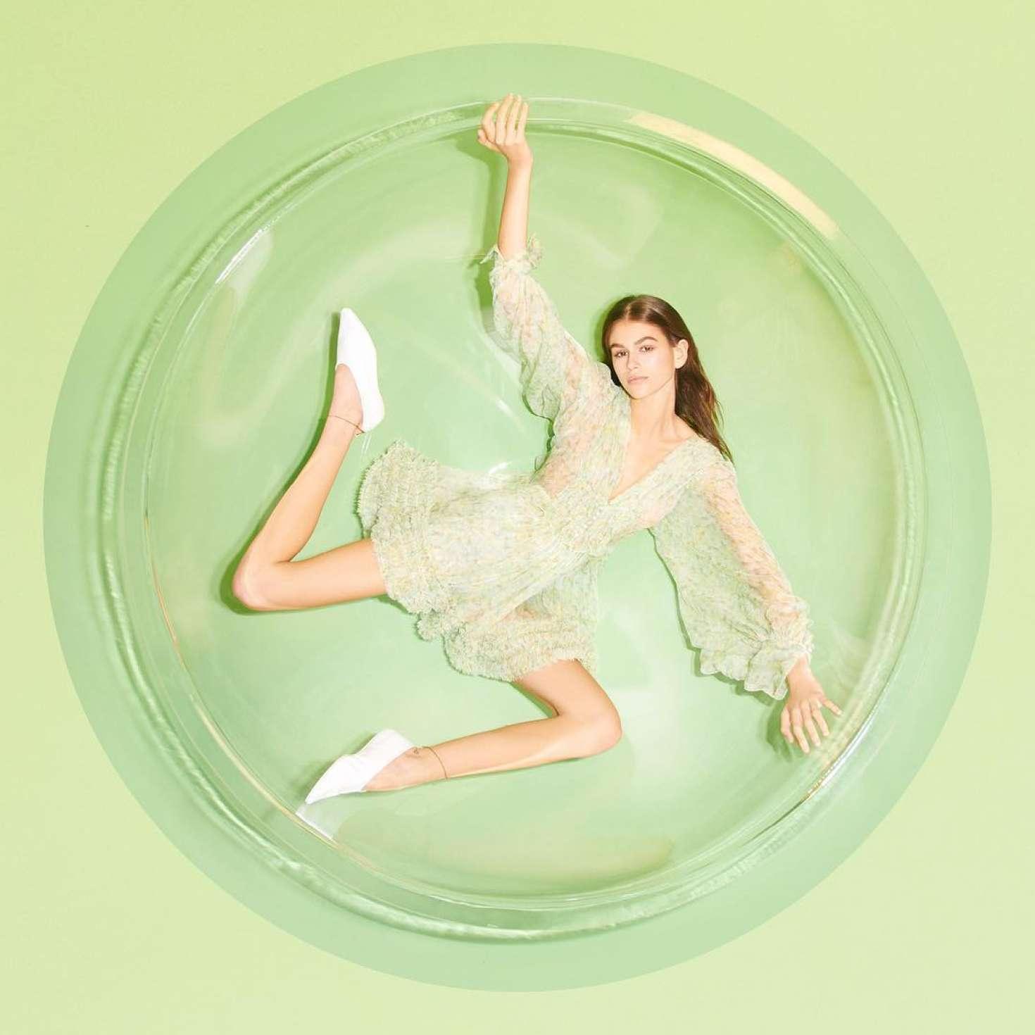 Kaia Gerber - Social Media Pics