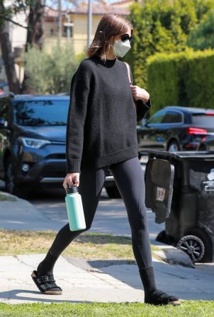 Kaia Gerber - Steps out for pilates class in West Hollywood